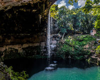 Cenote Zaci - Valladolid, Mexico Royalty Free Stock Image