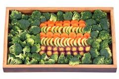 Cenoura, aipo e brócolis Fotos de Stock Royalty Free