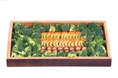 Cenoura, aipo e brócolis Foto de Stock