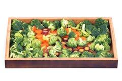 Cenoura, aipo e brócolis Fotografia de Stock