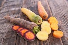 Cenoura fresca Imagem de Stock