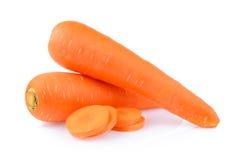 Cenoura isolada foto de stock