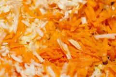 Cenoura, o aipo e a salsa Imagem de Stock