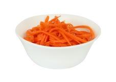Cenoura shredded Imagem de Stock Royalty Free