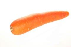 Cenoura sobre o branco Imagem de Stock Royalty Free