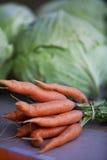 Cenouras Imagem de Stock Royalty Free