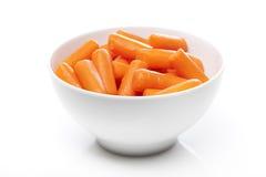 Cenouras alaranjadas frescas Imagem de Stock Royalty Free