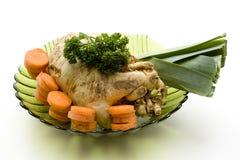 Cenouras com aipo e alho-porro Imagem de Stock