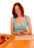 Cenouras da casca Imagens de Stock
