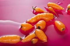 Cenouras de bebê Imagem de Stock