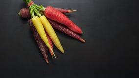 Cenouras e radishes Fotos de Stock