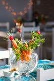 Cenouras em um potenciômetro Imagem de Stock Royalty Free
