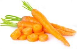 Cenouras frescas Imagem de Stock Royalty Free