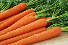 Cenouras frescas