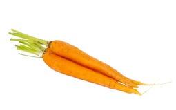 Cenouras frescas isoladas fotos de stock