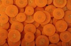 Cenouras orgânicas frescas Imagem de Stock