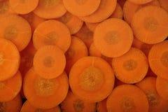 Cenouras orgânicas frescas Imagem de Stock Royalty Free