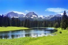 Cenário da montanha Fotografia de Stock Royalty Free