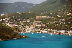 Cenário litoral Imagem de Stock