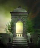 Cenário verde 1 Fotografia de Stock Royalty Free