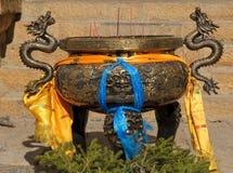 Censer in songzanlin tibetan monastery,shangri-la Royalty Free Stock Image