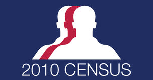 Censimento 2010 Immagini Stock Libere da Diritti