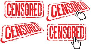 Censored Royalty Free Stock Image