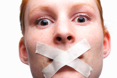 Censored or Silenced Royalty Free Stock Images