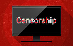 Censorship Royalty Free Stock Photography
