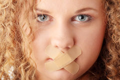 Censorship concept Stock Photography