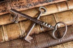 Censorship with rusty keys Stock Image