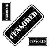 Censuré Photographie stock