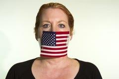 Censura del gobierno Fotografía de archivo libre de regalías