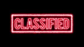 Censurerat hemligt skyddsremsacertifikat 4k