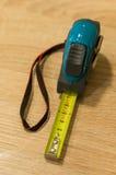 Centímetros de cinta métrica Imágenes de archivo libres de regalías