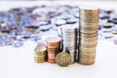 10 centów Fotografia Stock