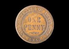 1930 centów Zdjęcia Stock