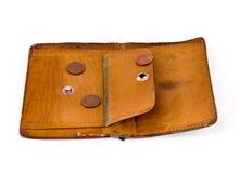 centów kryzysu trzy portfel Fotografia Stock