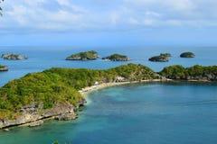 Cent îles Images libres de droits
