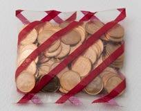 Cent av euro Royaltyfria Bilder