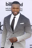 50 Cent. At the 2015 Billboard Music Awards held at the MGM Garden Arena in Las Vegas, USA on May 17, 2015 Stock Photography