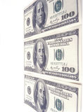 Cent billets d'un dollar. Image stock