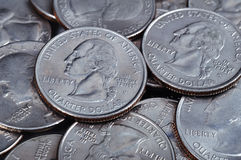 Cent coins Stock Photo