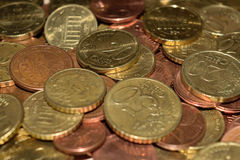 Cent coins Royalty Free Stock Photography