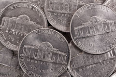 Cent coins Stock Images