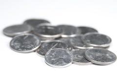 cent fem stycke Royaltyfria Foton