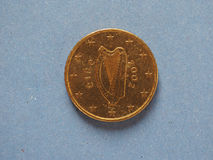 50-Cent-Münze, Europäische Gemeinschaft, Irland Lizenzfreie Stockfotografie