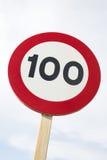 Cent Miles Per Hour Photographie stock libre de droits