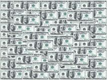 Cent notes du dollar photo stock