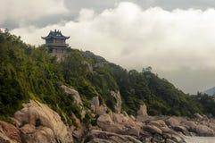 Cent plages Putuoshan Chine d'étape Images stock